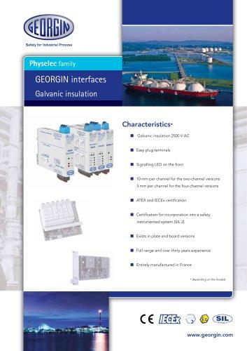 Interfaces - Galvanic insulation