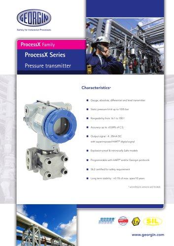ProcessX - Pressure transmitter