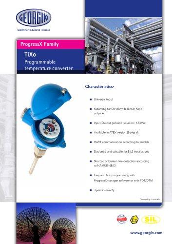 Tixo - Programmable temperature converter