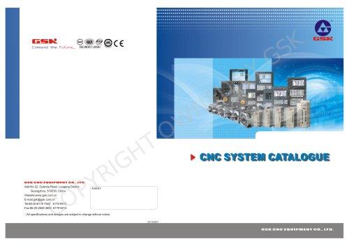 GSK CNC System