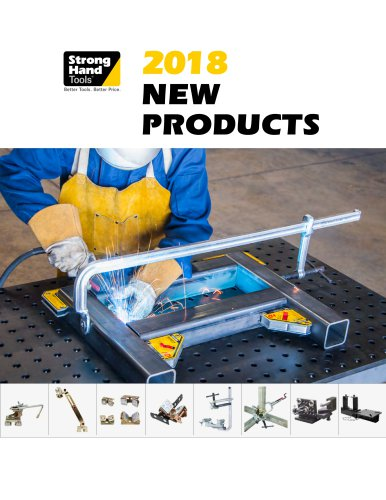 2018 New Product Brochure