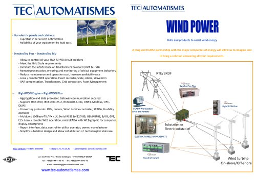 Applications for wind power