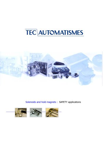 SOLENOIDS - SAFETY APPLICATIONS