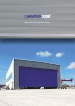 Champion Door Shipyard Doors