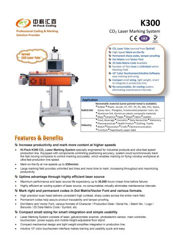 Beijing Hi-Pack Coding|laser marking machine