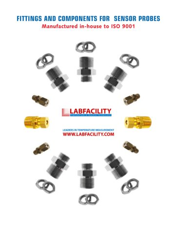 Fittings & Components for Sensor Probes