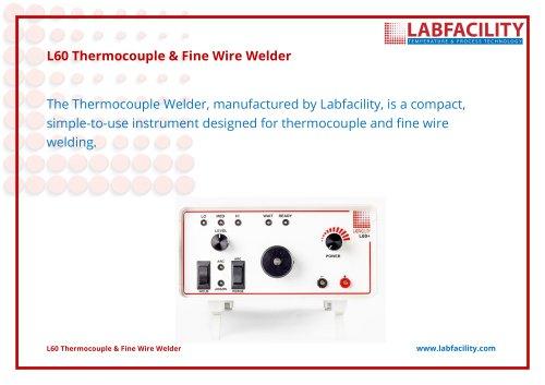 L60 Thermocouple & Fine Wire Welder Guide