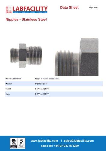 Nipples - Stainless Steel