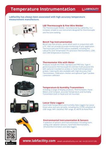Temperature Instrumentation