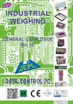INDUSTRIAL WEIGHING GENERAL CATALOGUE