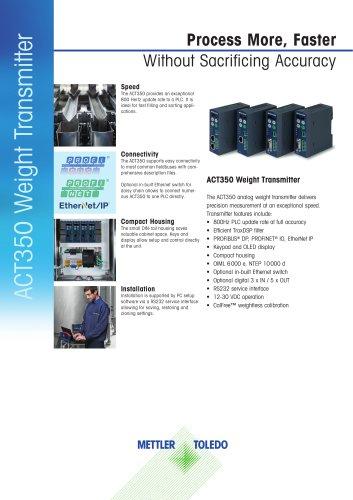 ACT350 Weight Transmitter