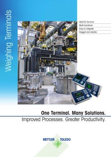 Weighing Terminals IND570 Terminal