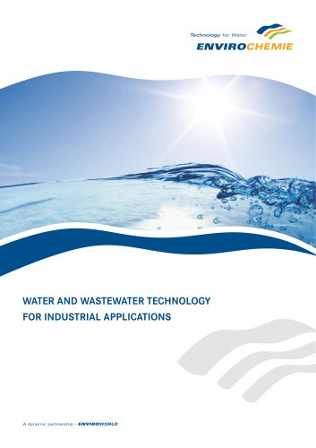 WATER AND WASTEWATER TECHNOLOGY FOR INDUSTRIAL APPLICATIONS