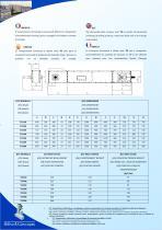 HORIZONTAL CHAIN CONVEYOR Mod. TO - 2