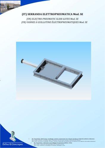 PNEUMATIC KNIFE GATE (SE Model)