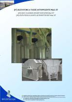 SELF-CLEANING BUCKET ELEVATOR Mod. ET - 1