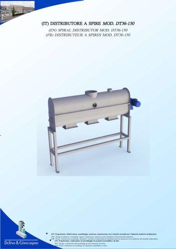 SPIRAL DISTRIBUTOR (DT36-150 Model)