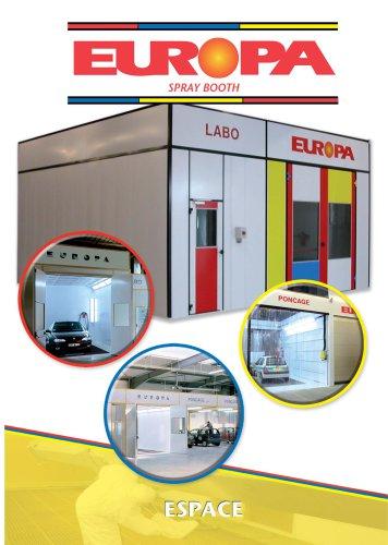 Europa spray booth