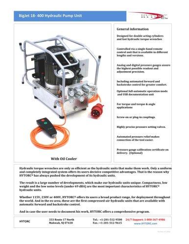 BigJet 18-400 Hydraulic Pump