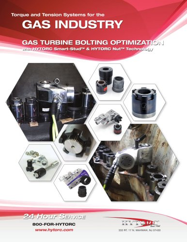 Gas Industry Torque and Tension Systems