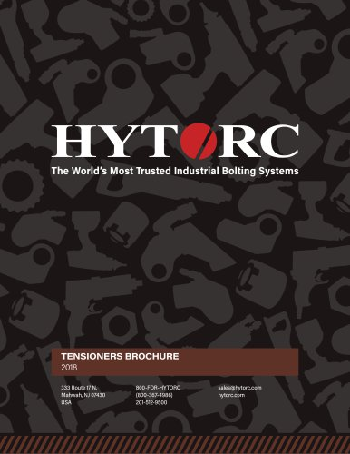 Hytorc Tensioners