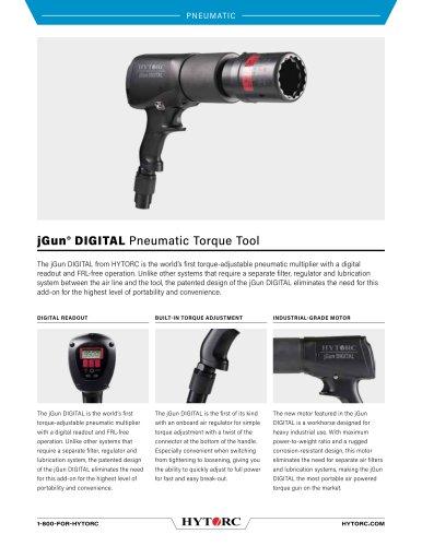 jGun® DIGITAL Pneumatic Torque Tool