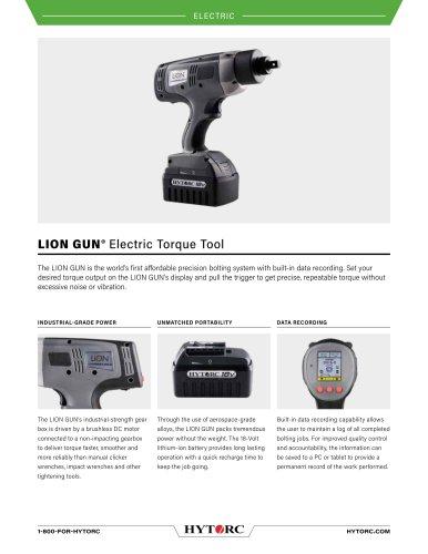 LION GUN® Electric Torque Tool