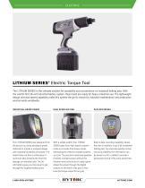 LITHIUM SERIES® Electric Torque Tool