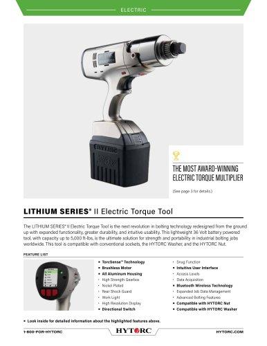 LITHIUM SERIES® II Electric Torque Tool