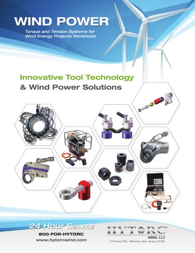 Wind Industry Torque and Tension Systems