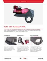 XLCT Limited Clearance Hydraulic Torque Wrench