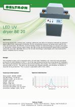LED UV dryer BE 20