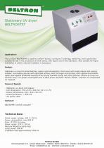 Stationary UV dryer BELTROSTAT