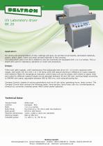 UV Laboratory dryer BE 20