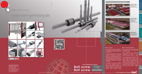 ball screw spindlrs