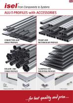 "Partial catalogue ""Aluminium T-Profiles with accessories"""