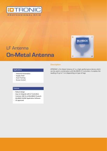RFID Antennas   On-Metal Antenna LF