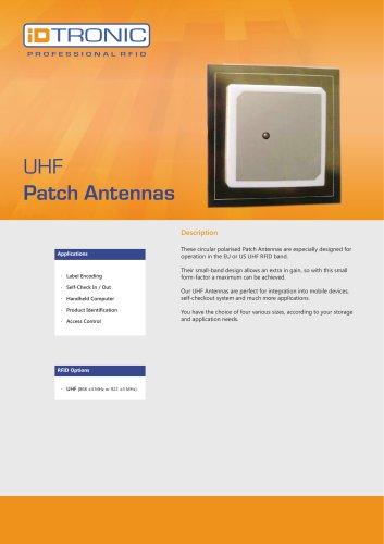 RFID Antennas   UHF Patch Antennas