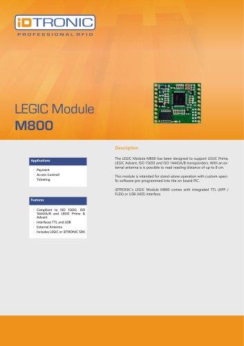 RFID Embedded Modules   LEGIC Module M800