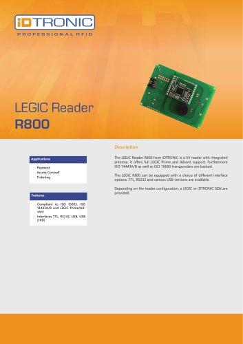RFID Embedded Modules   LEGIC Reader R800