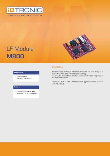 RFID Embedded Modules   LF Module M800