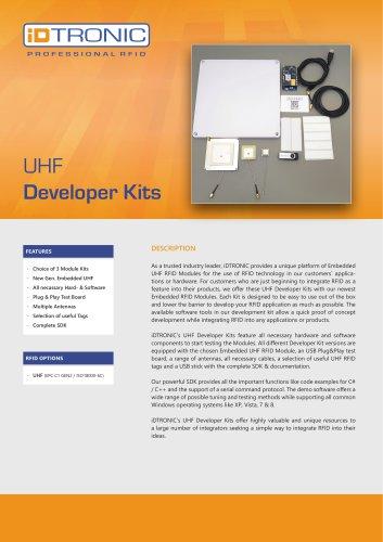 RFID Embedded Modules   UHF Developer Kits