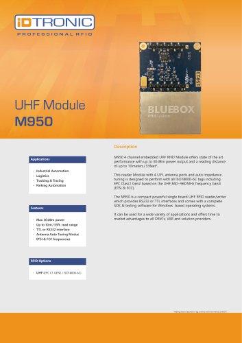RFID Embedded Modules   UHF Module M950
