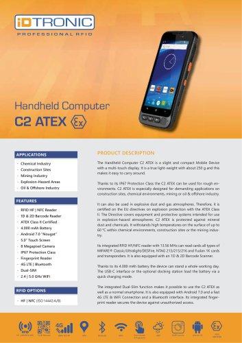 RFID Handheld C2 ATEX