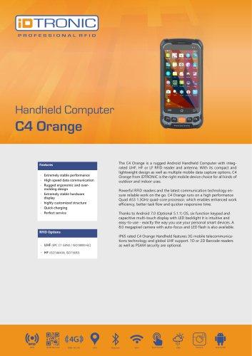 RFID Handheld Computers   C4 Orange