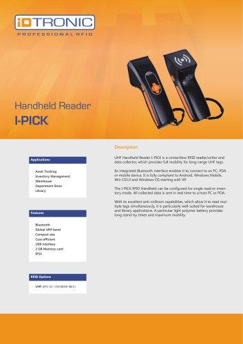 RFID Handheld Computers   Datacollector I-PICK