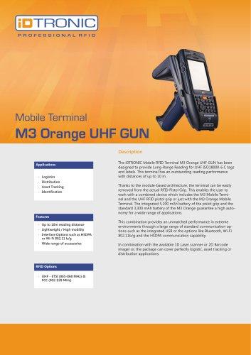 RFID Handheld Computers   M3 Orange Plus UHF GUN