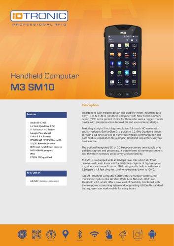 RFID Handheld Computers   M3 SM10