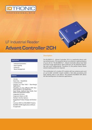 RFID Industrial Readers   BLUEBOX Advant Controller 2CH