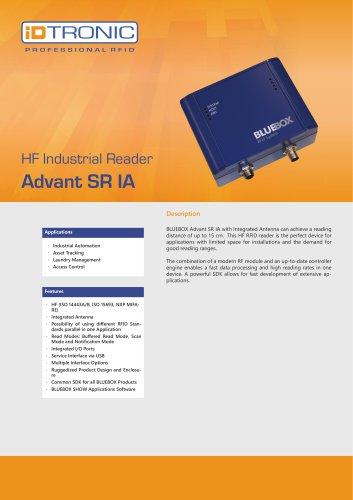 RFID Industrial Readers   BLUEBOX Advant SR IA